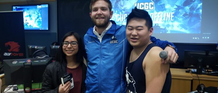 UConn Gaming Club officers